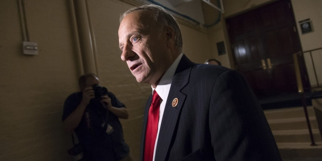 The internet slams Steve King's straight-up racist tweet