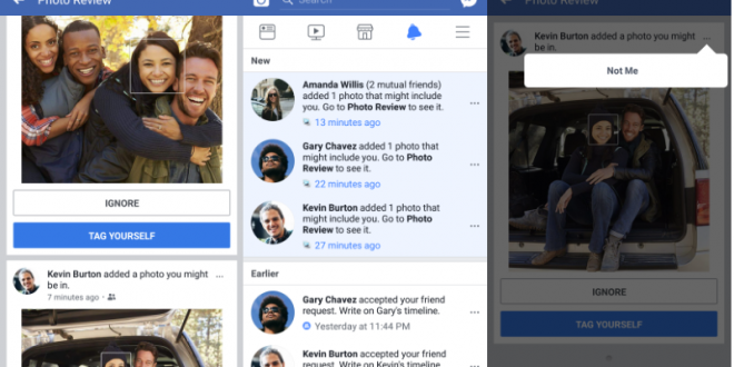 Facebook to Notify Users When Photos of Them Are Uploaded