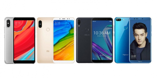 Redmi S2 vs Redmi Note 5 vs Asus ZenFone Max Pro M1 vs Honor 9 Lite: Price, Specifications, Features Compared