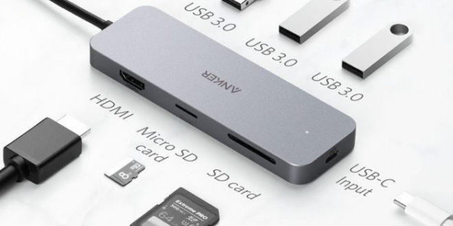 Kit out and charge up your laptop with Anker's 7-in-1 premium USB-C hub adapter for $20 off