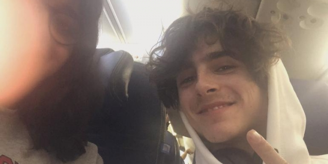 Indian girl bumps into Oscar nominee Timothee Chalamet on flight. Internet goes crazy