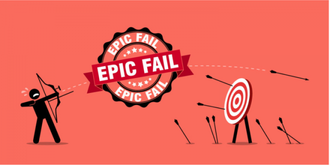 10 Common Blogging Fails to Acknowledge and Avoid